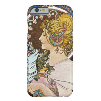 Alphonse Mucha La Plume Quill Pen Art Nouveau Barely There iPhone 6 Case