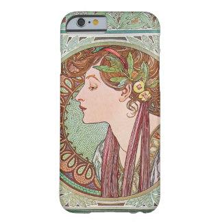 Alphonse Mucha Laurel Art Nouveau iPhone 6 case