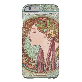 Alphonse Mucha Laurel Art Nouveau iPhone 6 case