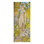 Alphonse Mucha. Le Lys/Lily, 1897 Poster