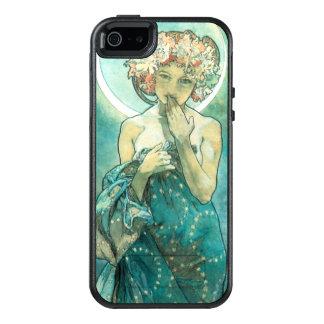 Alphonse Mucha Moonlight Clair De Lune Art Nouveau OtterBox iPhone 5/5s/SE Case