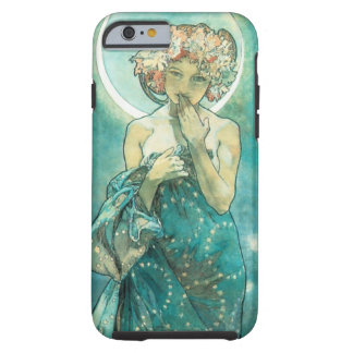 Alphonse Mucha Moonlight Clair De Lune Art Nouveau Tough iPhone 6 Case