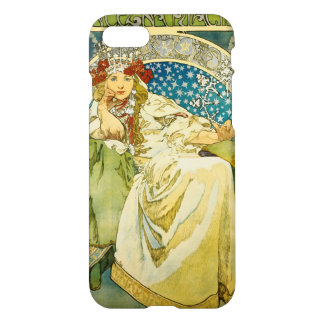 Alphonse Mucha Princess Hyacinth Art Nouveau iPhone 7 Case