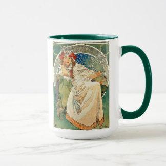 Alphonse Mucha Princess Hyacinth Mug