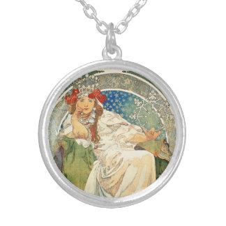 Alphonse Mucha Princess Hyacinth Necklace