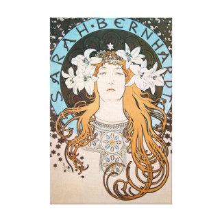art nouveau canvas prints
