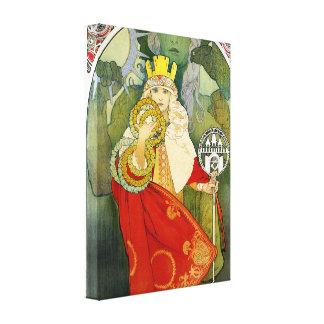 Alphonse Mucha Sokol Festival Canvas Poster Gallery Wrap Canvas