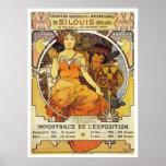 Alphonse Mucha. St Louis Expo 1903 Print
