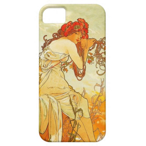 how to backup your iphone alphonse mucha summer iphone 5 zazzle 17079