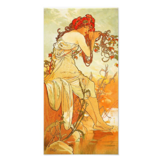 Alphonse Mucha Summer Print Photo Print