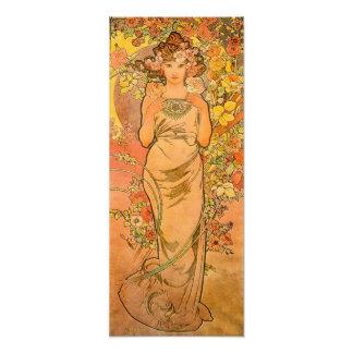 Alphonse Mucha The Rose Print Art Photo
