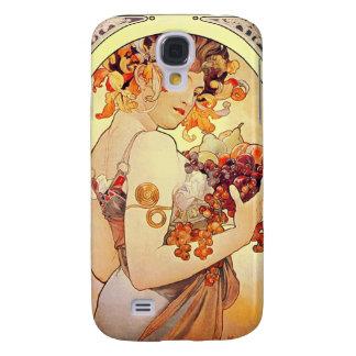 Alphonse Mucha Vintage Art Galaxy S4 Covers