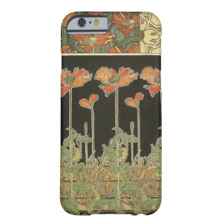 Alphonse Mucha Vintage Popular Art Nouveau Poppies Barely There iPhone 6 Case