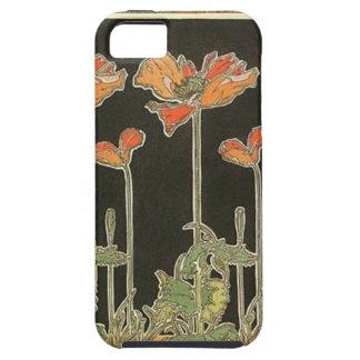 Alphonse Mucha Vintage Popular Art Nouveau Poppies iPhone 5 Cover
