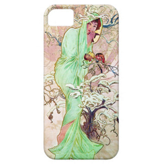 Alphonse Mucha Winter II Barely There iPhone 5 Case