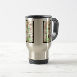 Alphonse Mucha Winter II Travel Mug