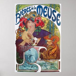 Alphonse Mucha Woman Poster