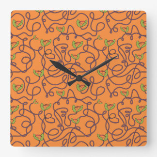 Alphonzia - Tangled Vines Wall Clocks