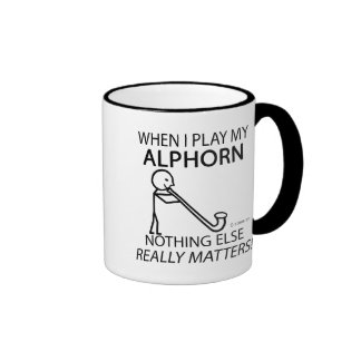 Alphorn Nothing Else Matters Coffee Mugs