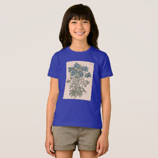 Alpine Bell Flower Botanical Illustration T-Shirt