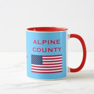 Alpine County California Coffee Mug