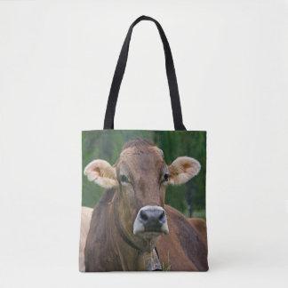 Alpine Cow All Over Print Bag