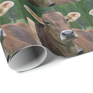 Alpine Cow Wrapping Paper