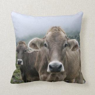 Alpine cows cushion