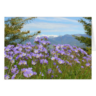 Alpine Forget-me-not Card