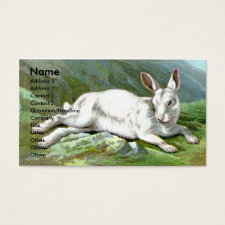 Alpine Hare Business Card