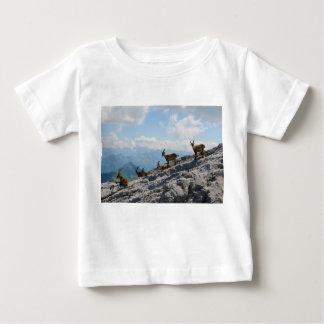 Alpine Ibex Wild Mountain Goats Baby T-Shirt