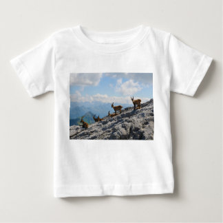 Alpine Ibex Wild Mountain Goats T Shirt