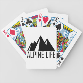 Alpine Life Bicycle Playing Cards