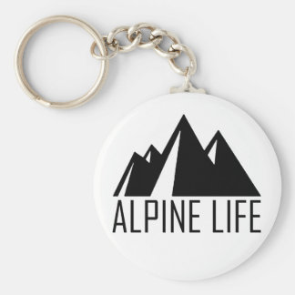 Alpine Life Key Ring