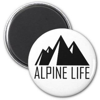 Alpine Life Magnet