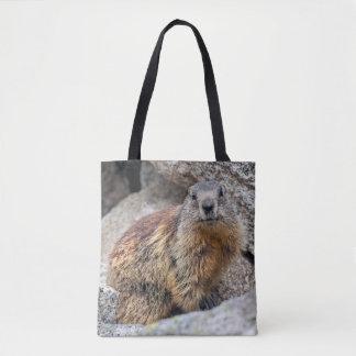 Alpine Marmot All Over Print Bag