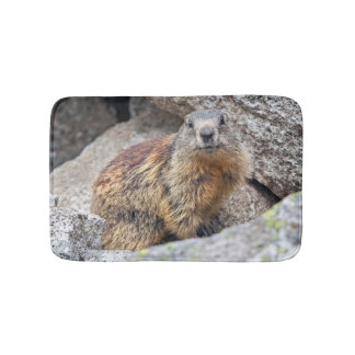 Alpine Marmot Bath Mat