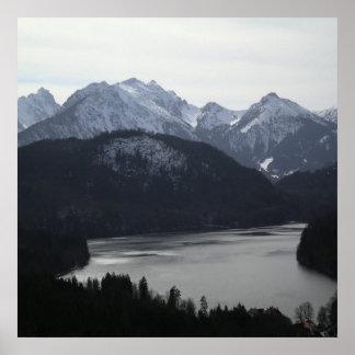 Alpine Region of Germany Poster