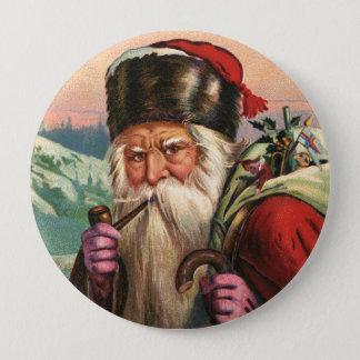 Alpine Santa Button