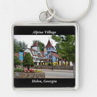Alpine Village Helen, Georgia Key Ring