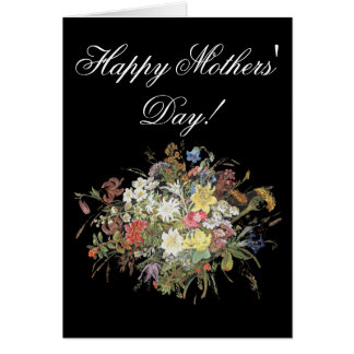 Alpine Wildflower Flower Edelweiss Moms' Day Card