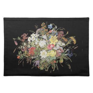 Alpine Wildflower Flowers Floral Spray Placemat