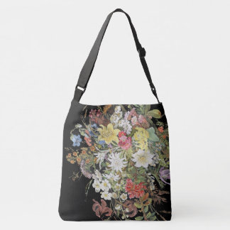 Alpine Wildflower Flowers Floral Spray Tote Bag