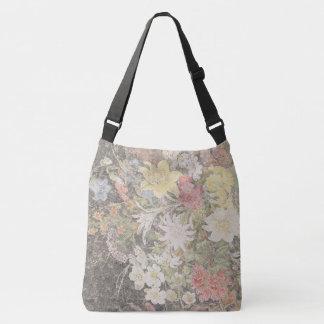 Alpine Wildflower Flowers Handmade Paper Tote Bag