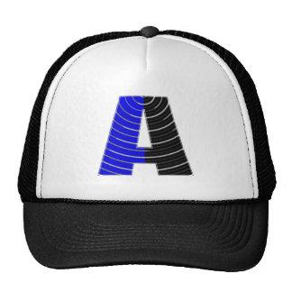 Alplhabet Soup A - Decorative Vowels Consonents Trucker Hats