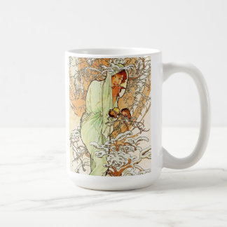 Alpohnse Mucha Winter Mug
