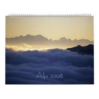 Alps 2008 wall calendar