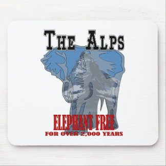 Alps - Elephant Free Mouse Pad
