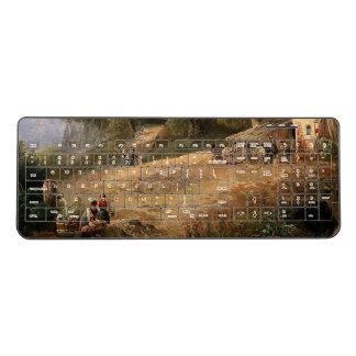 Alps Town Water Wells Wireless Keyboard