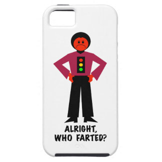 Alright, Who Farted? Tough iPhone 5 Case